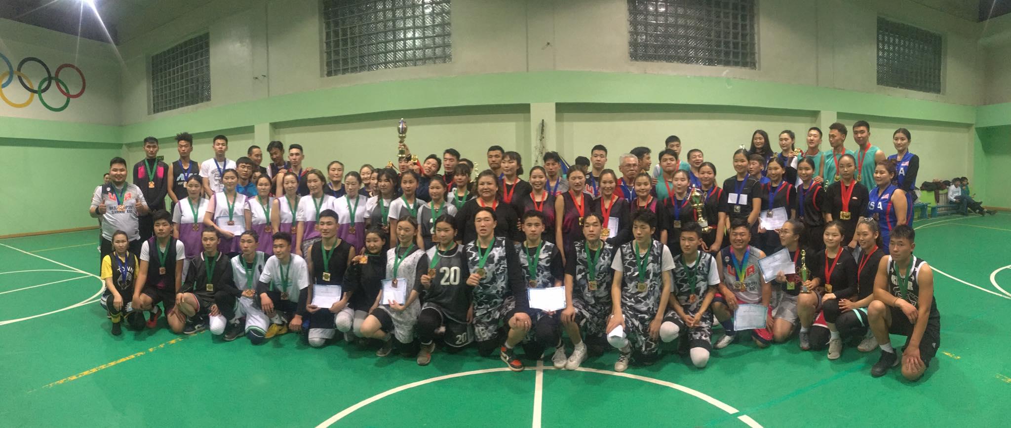Оюутан сурагчдын дунд сагсан бөмбөгийн аварга шалгаруулах тэмцээн боллоо